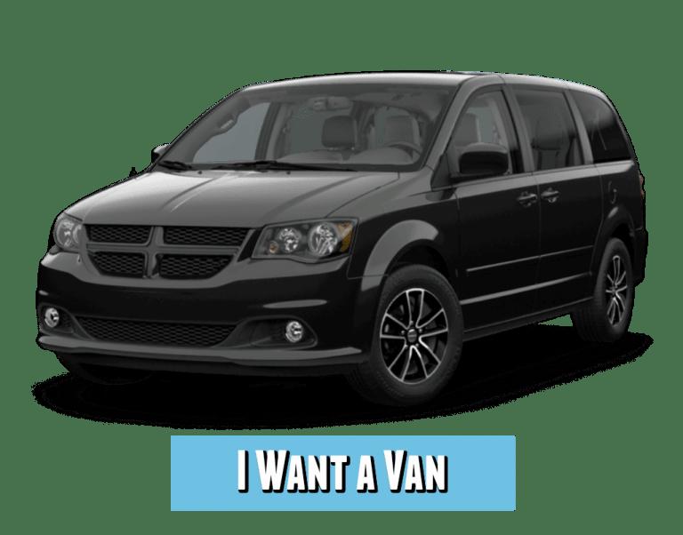 black dodge grand caravan